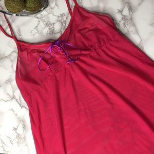 DKNY   Pink Sleepwear Slip